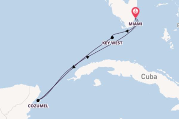 Geniet van het romantische Key West met Carnival Cruise Line
