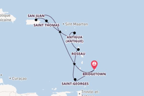 Somptueuse croisière de 8 jours avec Carnival Cruise Lines