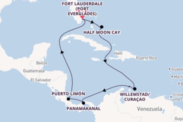 Fort Lauderdale und Half Moon Cay entdecken