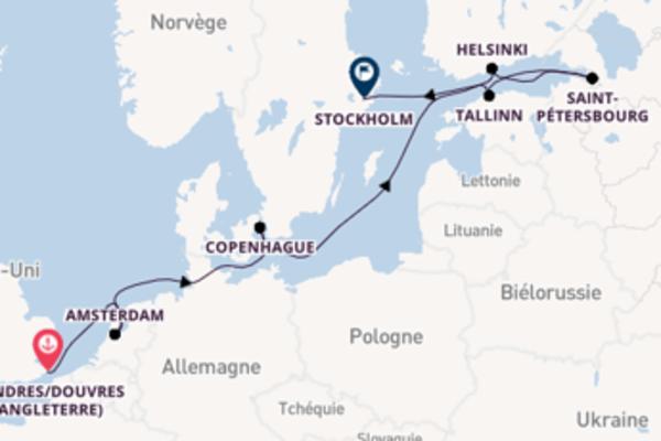 Croisière de 13 jours vers Stockholm avec Crystal Cruises
