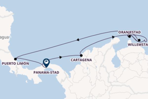 Cruise met Norwegian Cruise Line naar het prachtige Panama-Stad