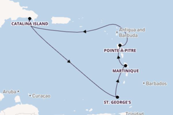 8-daagse cruise met de Costa Fortuna vanuit La Romana