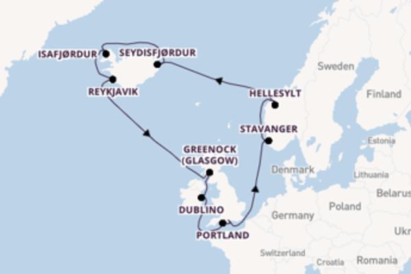 Crociera di 15 giorni a bordo di Norwegian Star
