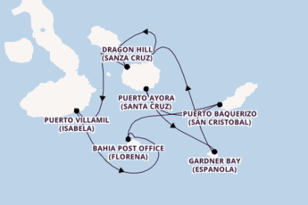 Travelling from Galapagos Islands, Ecuador via Puerto Villamil