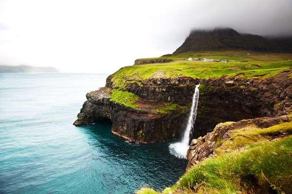 Vágar, Faröer Inseln
