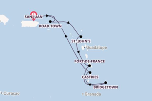 Navegue a bordo do Enchantment of the Seas em 8 dias