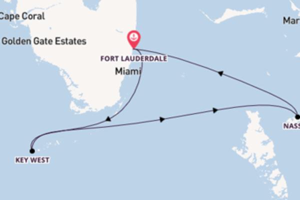 A bordo di Celebrity Millennium da Fort Lauderdale