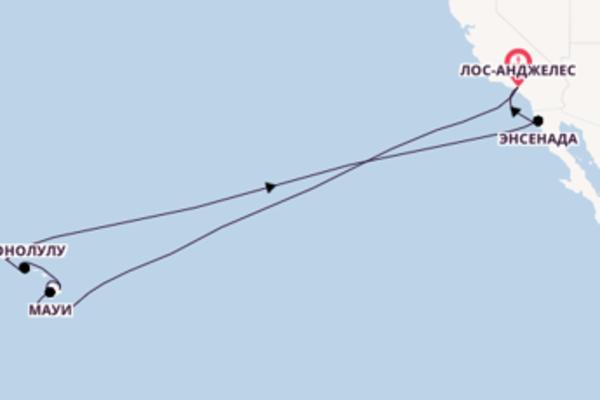 Пленительное путешествие на 16 дней с Princess Cruises