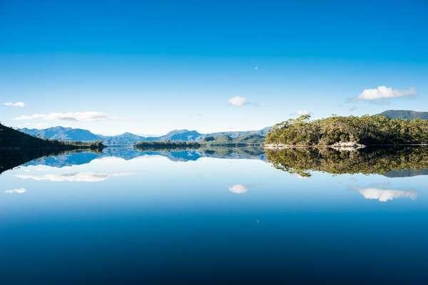 Bathurst Harbour, Tasmania, Australia