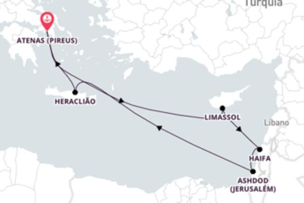 Encantadora viagem de 11 dias até Pireus