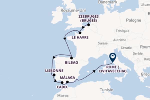 Málaga et une inoubliable croisière depuis Amsterdam