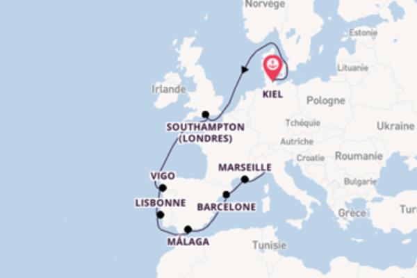 Superbe virée de 12 jours depuis Kiel