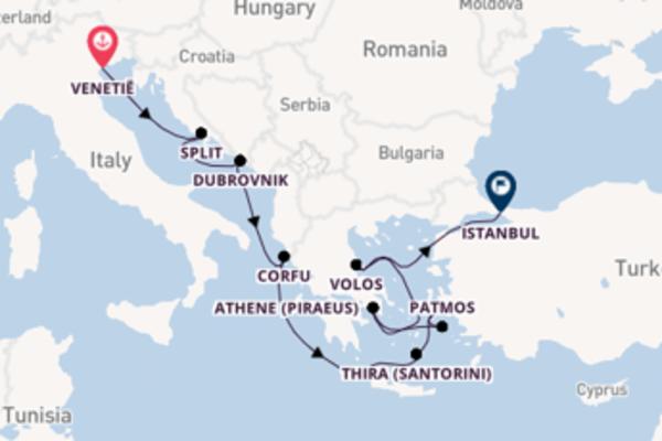 Maak een droomcruise naar Athene (Piraeus)