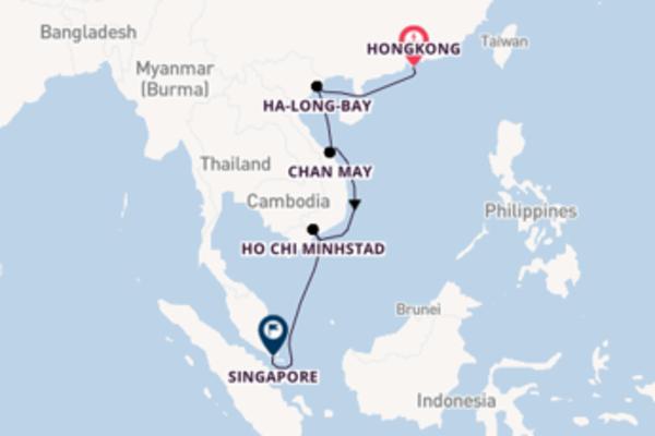 In 11 dagen naar Singapore