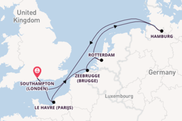 Cruise met MSC Cruises naar Rotterdam