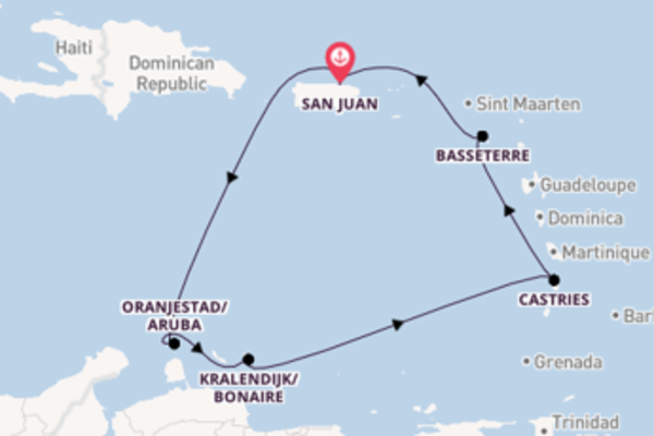 8 day cruise on board the Norwegian Epic from San Juan