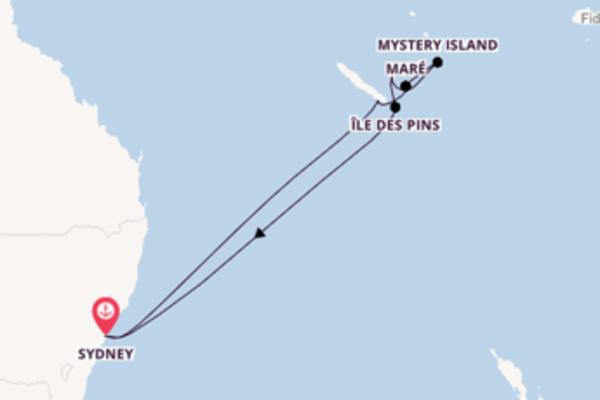 Sydney und Mystery Island erleben