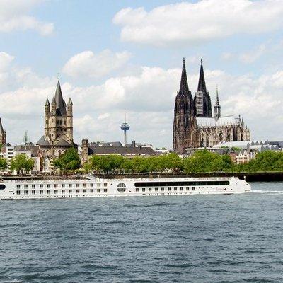Geniet op een cruise richting Keulen