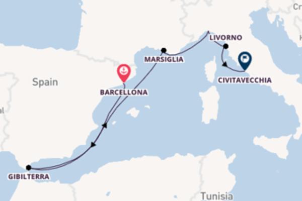 Spagna, Francia e Italia in otto giorni