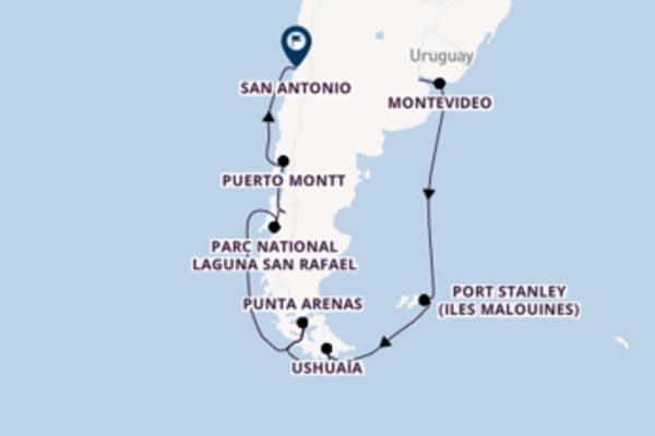 Croisière de 17 jours depuis Buenos Aires avec Regent Seven Seas Cruises