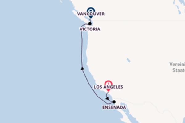 In 6 Tagen nach Vancouver über Ensenada