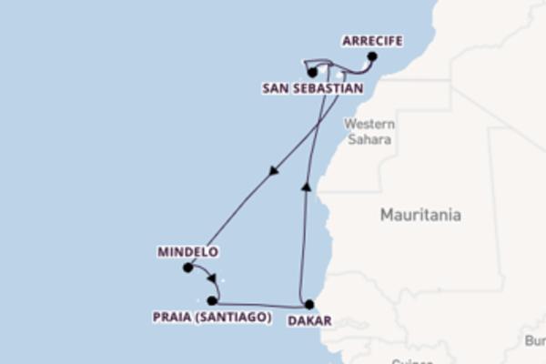 Cruise met TUI Cruises naar Santa Cruz de Tenerife