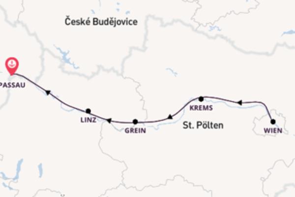5 Tage Rundreise in Passau mit der MS Bellisima