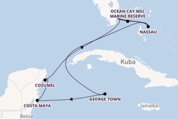 11 Tage Karibik Reise
