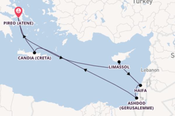11 giorni da Pireo (Atene)