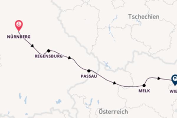 Nürnberg und Wien erkunden