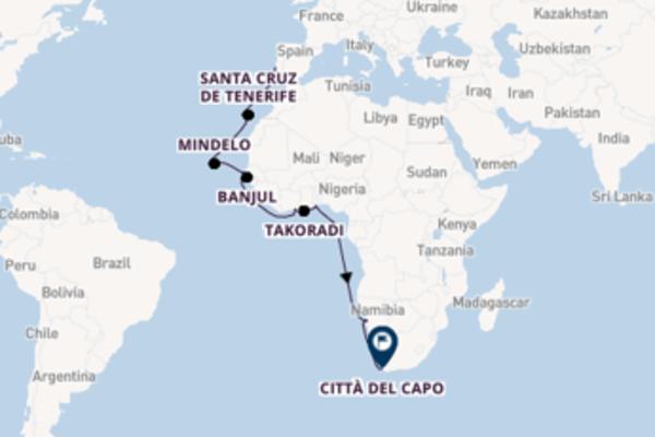 Imperdibile viaggio di 25 giorni a bordo di Seven Seas Voyager