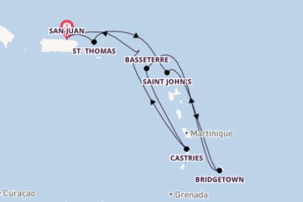 Lasciati affascinare da St. Thomas e San Juan
