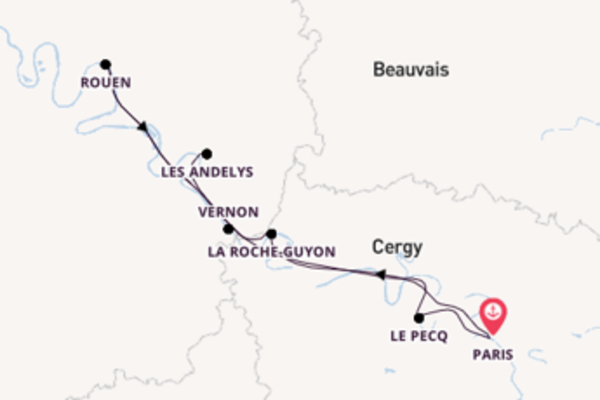 Expedition with Viking River Cruises from Paris