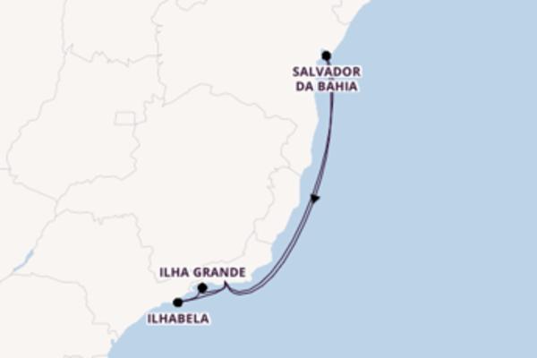 Memorable trip from Rio de Janeiro with MSC Cruises