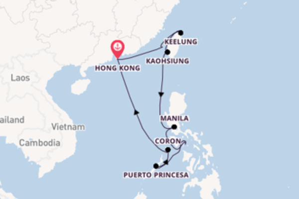 Lasciati affascinare da Keelung e Hong Kong
