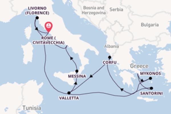 11 day cruise with the Norwegian Breakaway to Rome (Civitavecchia)