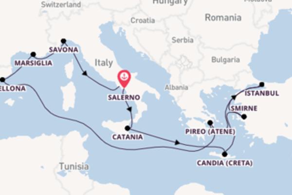 Scopri Marsiglia arrivando a Napoli