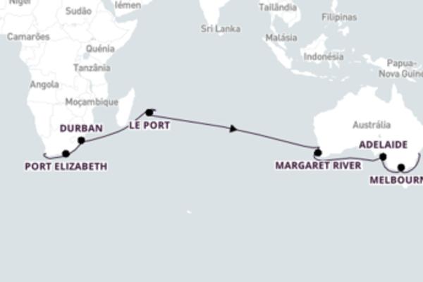 Relaxando a bordo do Queen Mary 2 por 29 dias