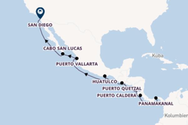 Kreuzfahrt mit der Norwegian Jewel nach San Diego
