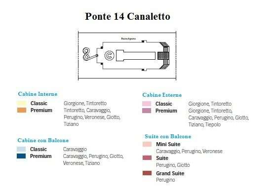 Costa Magica Ponte 14 Canaletto