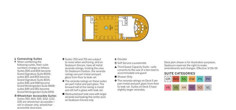 Seabourn Ovation Deck 12