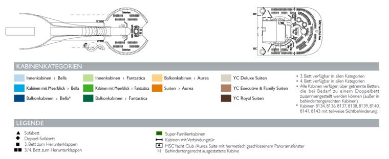 MSC Divina Deck 18 Elios