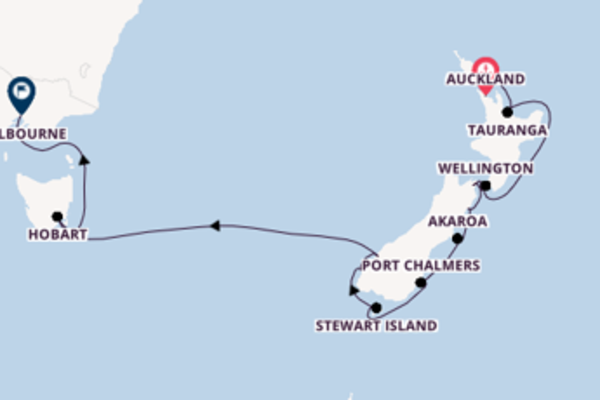 Voyage with Silversea from Auckland