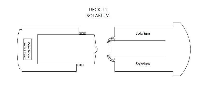 Costa Victoria Палуба 14 Solarium