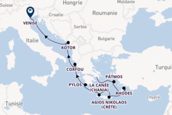 Agios Nikolaos et une mémorable croisière depuis Le Pirée