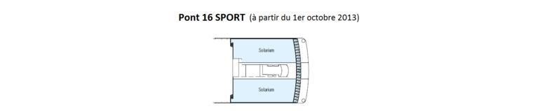MSC Musica Pont 16 Sport