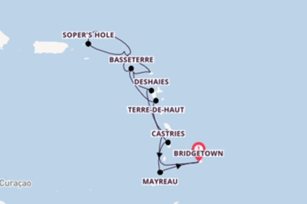 Voyage with Seabourn from Bridgetown