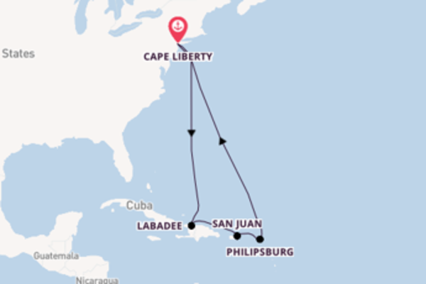 10-daagse cruise naar San Juan