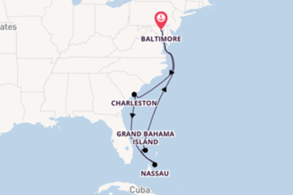 Cruising from Baltimore with the Enchantment of the Seas