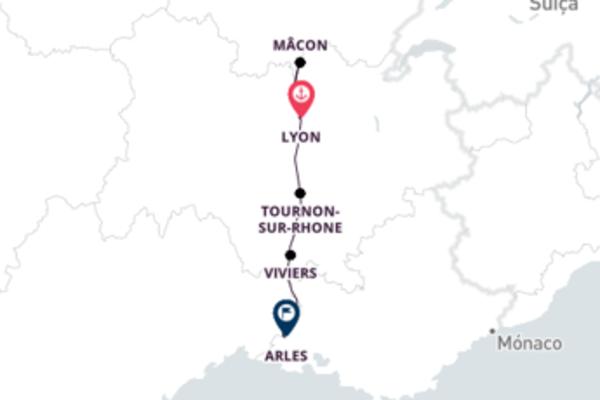 De Lyon para Avignon
